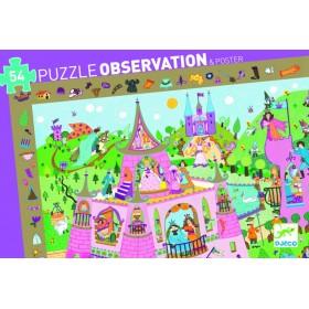 PUZZLE OBSERVATION PRINCESSE