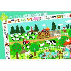 PUZZLE OBSERVATION FERME