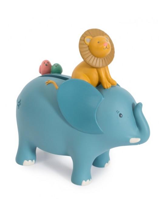 TIRELIRE ELEPHANT SOUS MON BAOBAB -  - Pau d'Ours Cadeaux de...