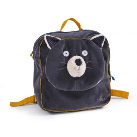 SAC A DOS CHAT GRIS...