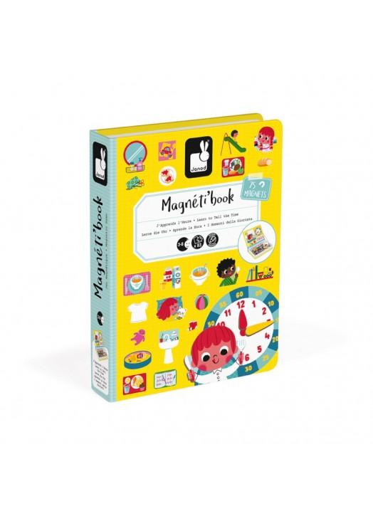 MAGNETI'BOOK L HEURE -  - Pau d'Ours Cadeaux de naissances