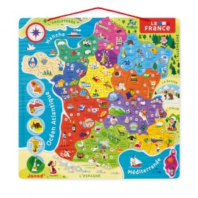 PUZZLE FRANCE MAGNETIQUE