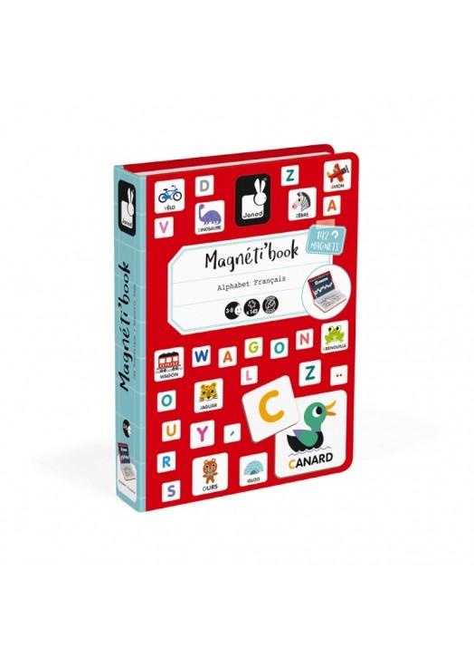 MAGNETI'BOOK ALPHABET -  - Pau d'Ours Cadeaux de naissances