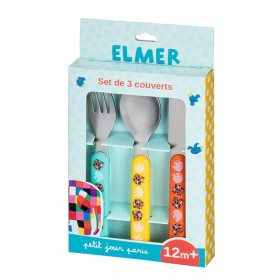 SET DE 3 COUVERTS ELMER