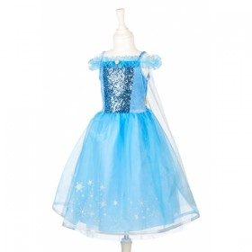 ROBE ICE QUEEN 8-10 ANS